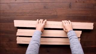 Comment Réaliser Une Table Design En Bois Massif