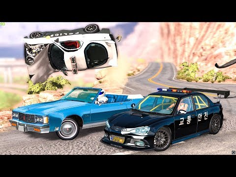EPIC POLICE CHASES #47 - BeamNG Drive | CRASHdriven