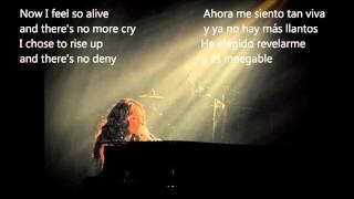 Alicia Keys - A place of my own (Traducción español - inglés)