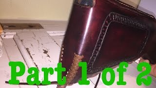 Leather Buttstock Cover Build Along Part 1 of 2
