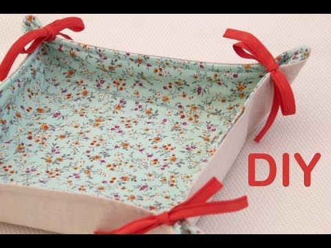 Clase de costura práctica 8: Cómo hacer panera de tela