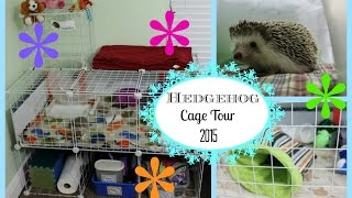 C&C Hedgehog Cage Tour | Jan 2015