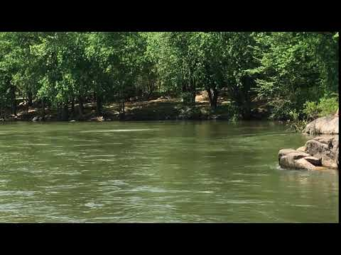 Swimming in the St. Francis River in May
