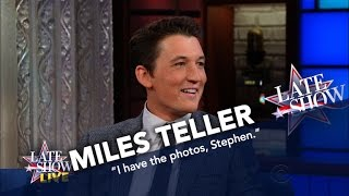 Miles Teller Attended Robert De Niros Election Night Party