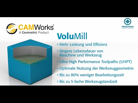 CAMWorks Volumill
