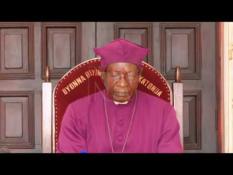 Bishop Luwalira urges Christians to pray for peace