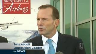 Abbott flees as Thomson votes with Coalition