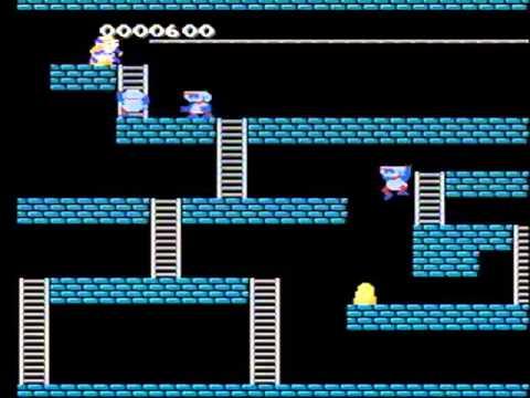Super Lode Runner Japan [b] Nes Gameplay video Snapshot