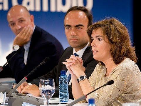 Sáenz de Santamaría: No se trata de recuperar competencias, se trata de responsabilidad