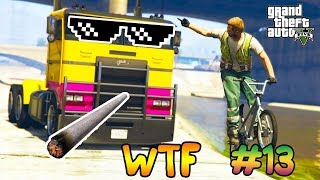 СМЕШНЫЕ МОМЕНТЫ И ФЕЙЛЫ В GTA 5 И GTA ONLINE #13 | GTA 5 & ONLINE FUNNY MOMENTS AND FAILS