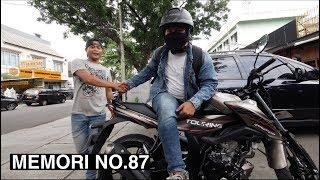 PERASAAN KEMBALI KE MOTOR KOPLING MENGARUNGI LAUTAN JAKARTA  !  FEAT. SUZUKI BANDIT 150cc  #87