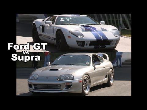 Supra Battles Ford GT - Epic!!