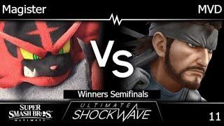 USW 11 - HNTI | Magister (Incineroar) vs WBG | MVD (Snake) Winners Semifinals - SSBU