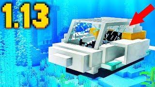 ПОДВОДНАЯ ЛОДКА Minecraft 1.13! БЕЗ МОДОВ!