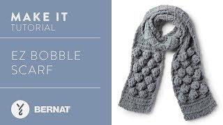 EZ Knitting: EZ Bobble Scarf Tutorial