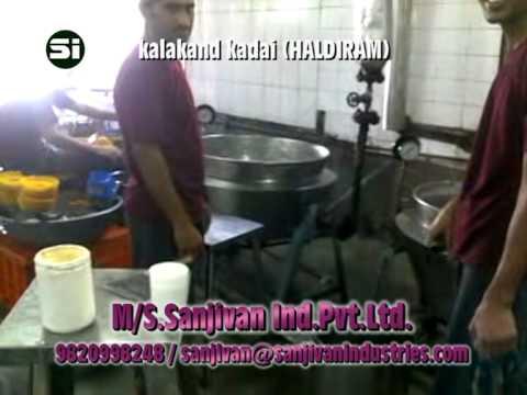 Thirmic Namkeen plant Kadai