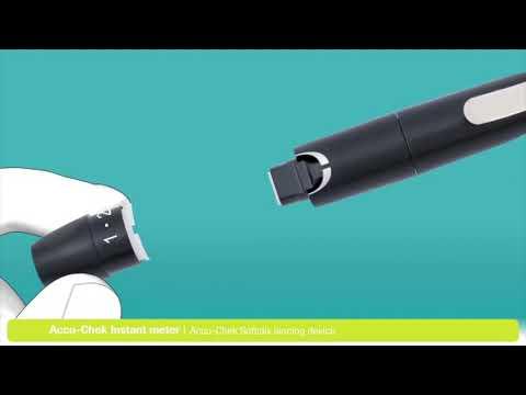 Accu-Chek Instant Glucometer with Free 10 Test Strips, mySugr App