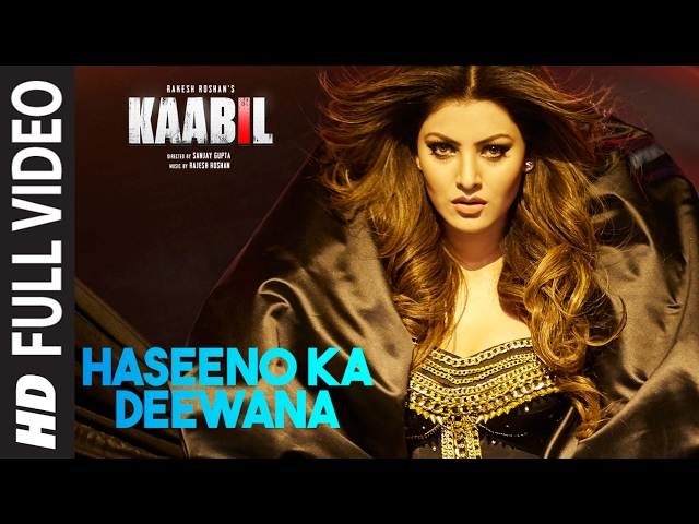 Haseeno Ka Deewana Full Video Song | Kaabil Movie Songs | Hrithik