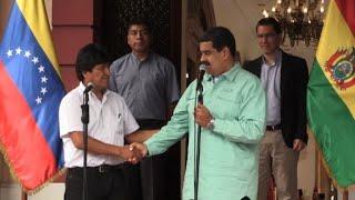 Morales apoia Maduro em questionadas eleições