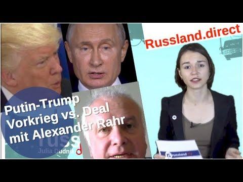 Putin-Trump: Vorkriegszeit oder Deal – mit Alexander Rahr [Video]