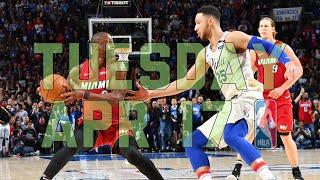 NBA Daily Show: Apr. 17 - The Starters - Video Youtube