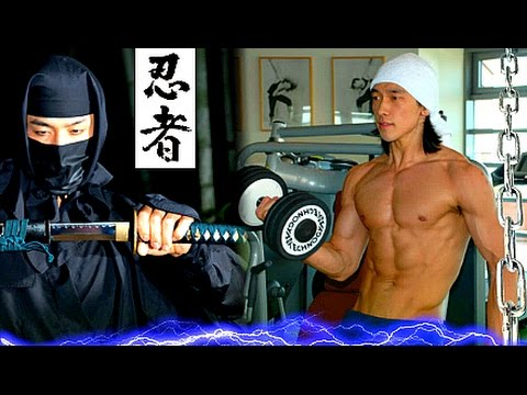 "Making Of NINJA ASSASSIN 2 ☯ Deadly Ninjutsu Martial Arts Training - Rain ""Raizo"" Fights Weapons!"