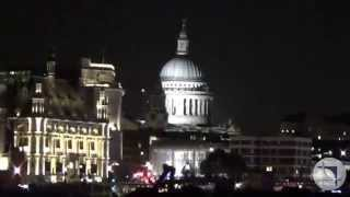 London, River Thames Cruise at night