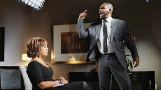 WHEN YOU GET CAUGHT WATCHING A SHOW YOU WERE SUPPOSED TO WATCH WITH SOMEONE | R Kelly Interview Meme