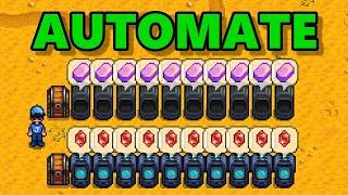 Stardew Valley - Automate Mod
