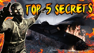 Top 5 FORGOTTEN SECRETS in NACHT DER UNTOTEN! Nazi Zombies Easter Eggs You Didn't Know (COD Zombies)