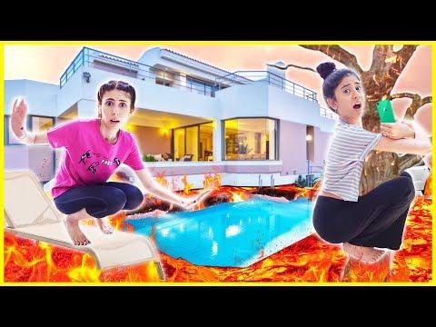 Odada Kilitli Kaldım Challenge Yeni Villada Yerde Lav Var Eğlenceli Çocuk Videosu Dila Kent