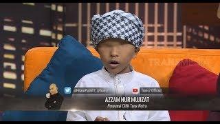 Azzam, Anak Yang Tak Memiliki Kelopak Mata Tapi Bersuara Emas | HITAM PUTIH (06/12/18) Part 2