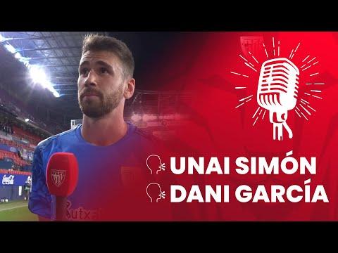 🎙 Unai Simón & Dani García   post CA Osasuna 1-0 Athletic Club   M7 LaLiga 2020-21