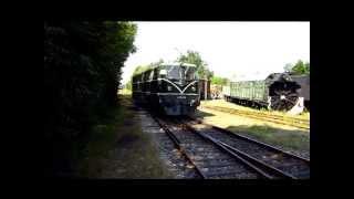 preview picture of video 'Dieselloktreffen im Eisenbahnmuseum Strasshof 2013'