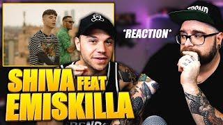 Shiva   Mon Fre Feat. Emis Killa * REACTION * By Arcade Boyz