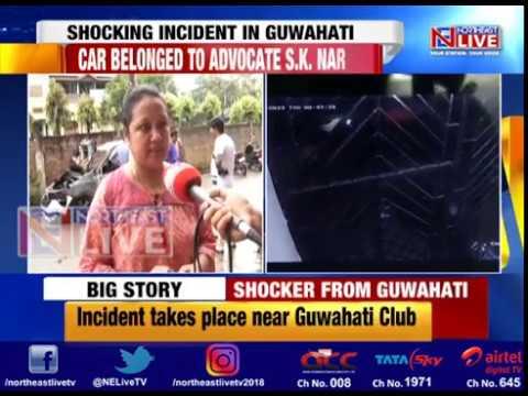 Miscreants set ablaze Advocate's car in Guwahati