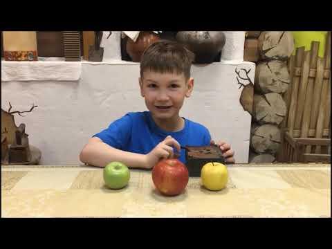 """Эксперимент """"Почему яблоки темнеют"""""""