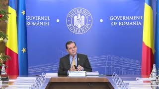 12/06/19 Declarații susținute de premierul Ludovic Orban la începutul ședinței de guvern