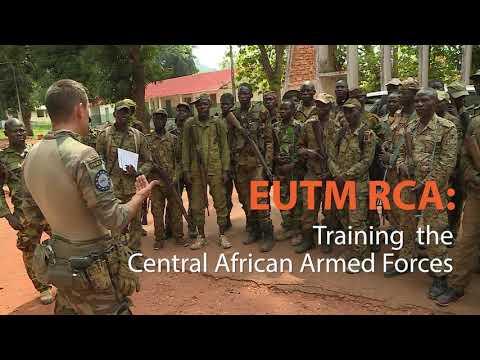 EU CSDP missions and operations - EUTM RCA