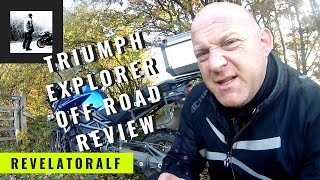 Triumph Explorer XCa - Off Road Capability Review!