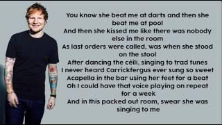 Galway Girl - Ed Sheeran || Lyrics (Official Audio)