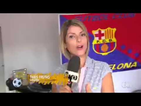 Globo esporte em barbearia Barcelona