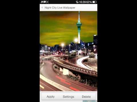 Vídeo do Night City Live Wallpaper HD