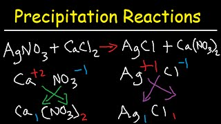 Precipitation Reactions And Net Ionic Equations - Chemistry