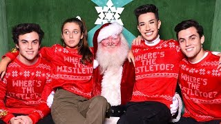 CHRISTMAS WISH COME TRUE (MEETING SANTA!) ft. Dolan Twins & James Charles