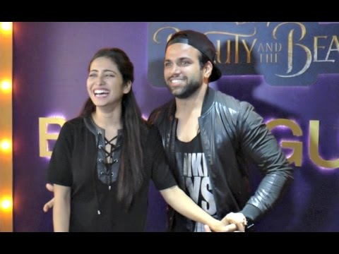 Rithvik Dhanjani And Asha Negi FUNNY Interview At Beauty And The Beast Screening