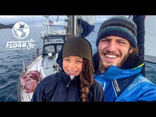 Sailing Croatia in Wintertime is INTENSE