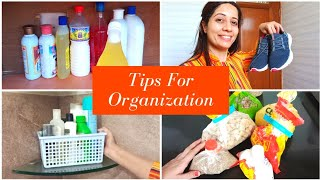 11 Tips For Clean & Organized Home|| Shape Up Your Life