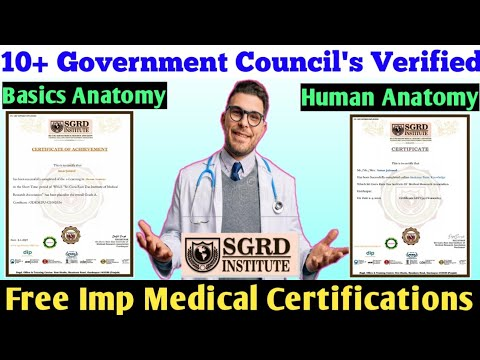 Free Medical Certificate   Online course with Certificate