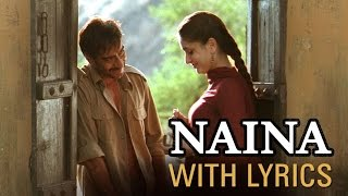 Naina Song With Lyrics | Omkara | Ajay Devgn, Saif Ali Khan